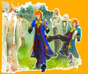 Fred and George Weasley: Veela cousins by Peregrinus5Floh