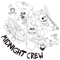 Five Nights of the Midnight Crew! by Satori-of-the-Forest