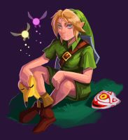 Link, Majora's Mask by DesireeMoffatt