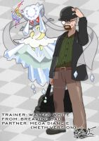 Pokemon_crossover Walter White by badafra