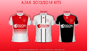 Ajax 2013/2014 Kits by napolion06