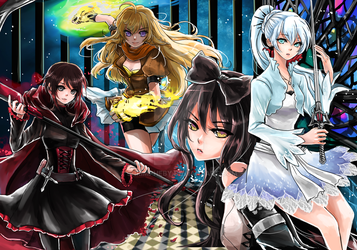 RWBY by shrimpHEBY