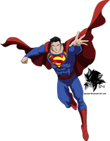 The CW Superman (Bourassa style) by MAD-54