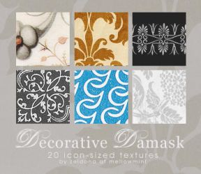 Decorative Damask by mellowmint