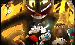One Hell of a Time! CUPHEAD by BonesTheSkelebunny01