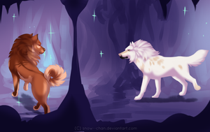 Caving - Twinkle Light by Snow--Chan