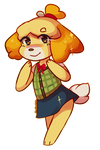 Isabelle Doodle by Southrobin