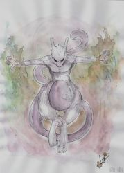 Mewtwo by Ayane45