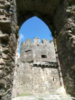 Conwy Castle by MontyMouse