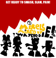 Mixels: Mixed Up Ways to Die Poster 1 (Redo) by Luqmandeviantart2000