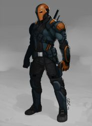 Deathstroke by Giando1611990