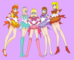 Sailor moon Nintendo by earthbouds