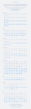 Aircons Icon Set - Clean and modern glyphs by okidoci