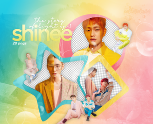 SHINee - The Story Of Light EP.1 {png} by pollovolador