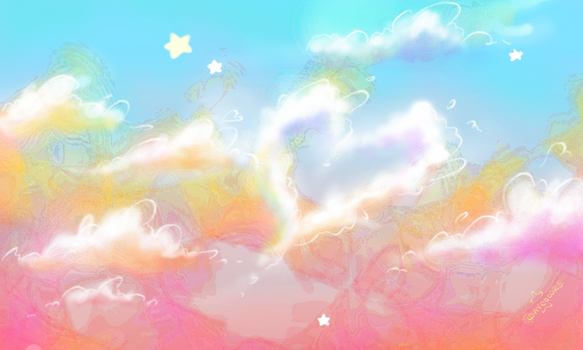 Cloud study by Daycolors