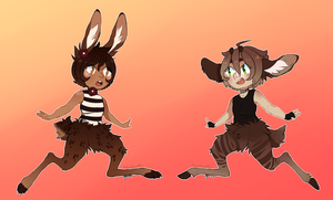 Faun Boys [Auction - CLOSED] by goatlet