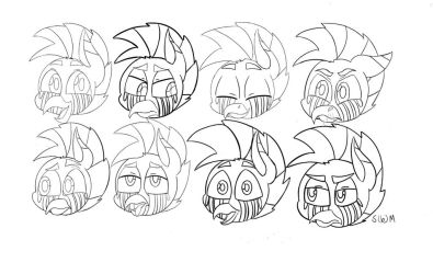 Sagey Faces by SagelyByMoonlight