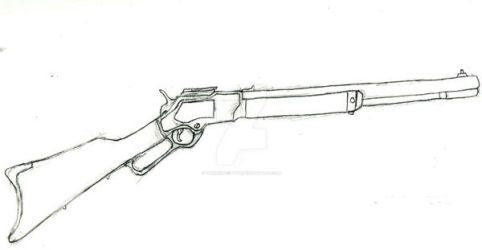 Winchester Model 1866 by CheshireCat8D