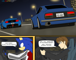 Anthro Grand Prix (vs) Wangan Midnight by VolksGTiFox