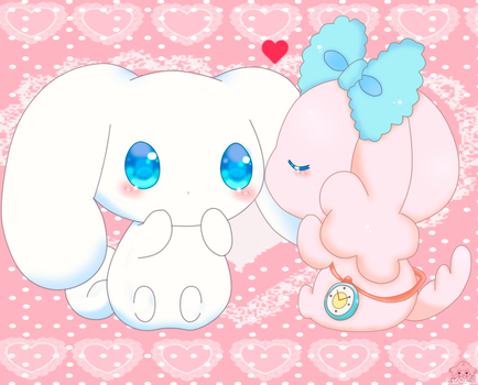Cinnamoroll and poron by jirachicute28
