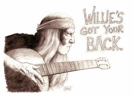 Willie's Got Your Back by SethWolfshorndl