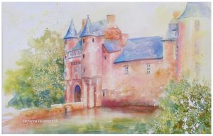 Conte de fee au chateau de Trecesson by Papercolour