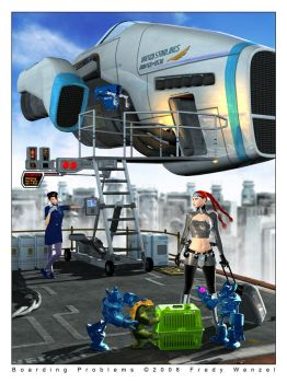 Boarding Problems by Fredy3D