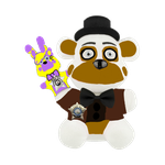 FNAF/CPD - FunTime Voight And LinLin Plush Edit by FunTimeAlyssa