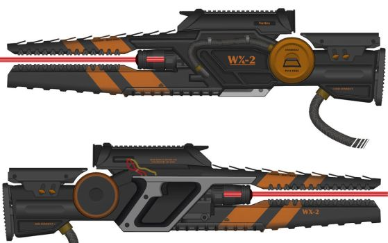 High Energy Laser Rifle by Shockwave9001