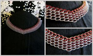 Dragonscale Necklace biased by JeiThings