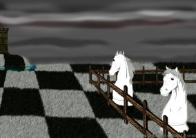 Chess take rest by madna29