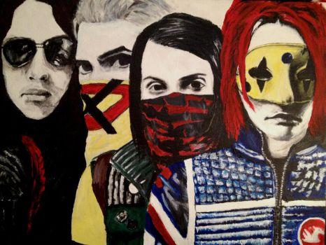 Three Cheers for My Chemical Romance by Overseen