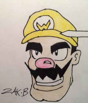 Wario by AmoebaGagless