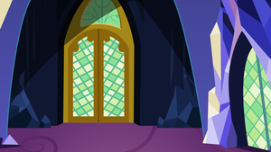 Twilight Sparkle's Castle Throneroom Entrance by Evilbob0