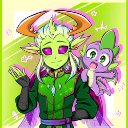 Thorax And Spike by thegreatrouge