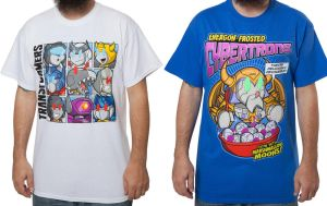 LilFormers officially licensed Transformers shirts by MattMoylan