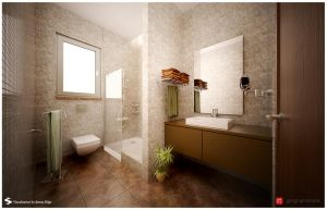B.T.-Master Bathroom by Semsa