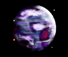 The Purple Planet by Anomalies13