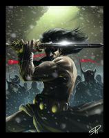 Conan the barbarian by steven-donegani
