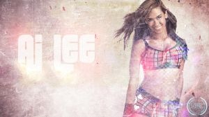 AJ Lee Wallpaper by thegame95