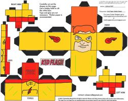 DC SH 9: Kid Flash Cubee by TheFlyingDachshund