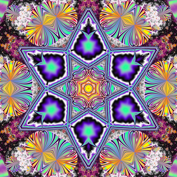 Exploding Six Pointed Star by FlyingMatthew