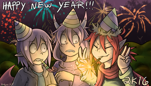 New Year 2016 by Sanguynn