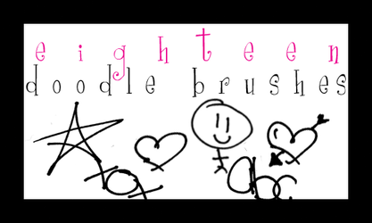 Doodle Brushes 1. by englisharmy