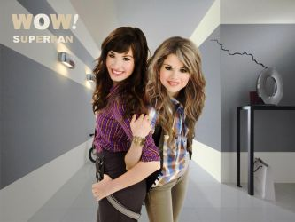Super Fan Demi and Selena by YuliBieber