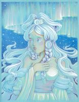 Princess Yue of the Moon by CyanSky