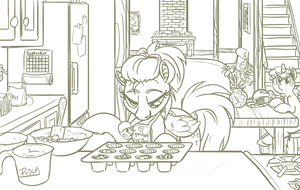 Muffin Baking by Prism-S