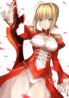 [Sketch] Saber Nero by Coffee-Straw-LuZi