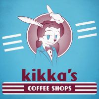 Fake LP Cover - Kikka's Coffee Shops by SillyVamp