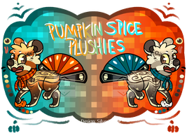 Pumpkn Spice Plushies Auction: [CLOSED] by SilverIttam